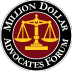 Million Dollar Advocates Forum Badge